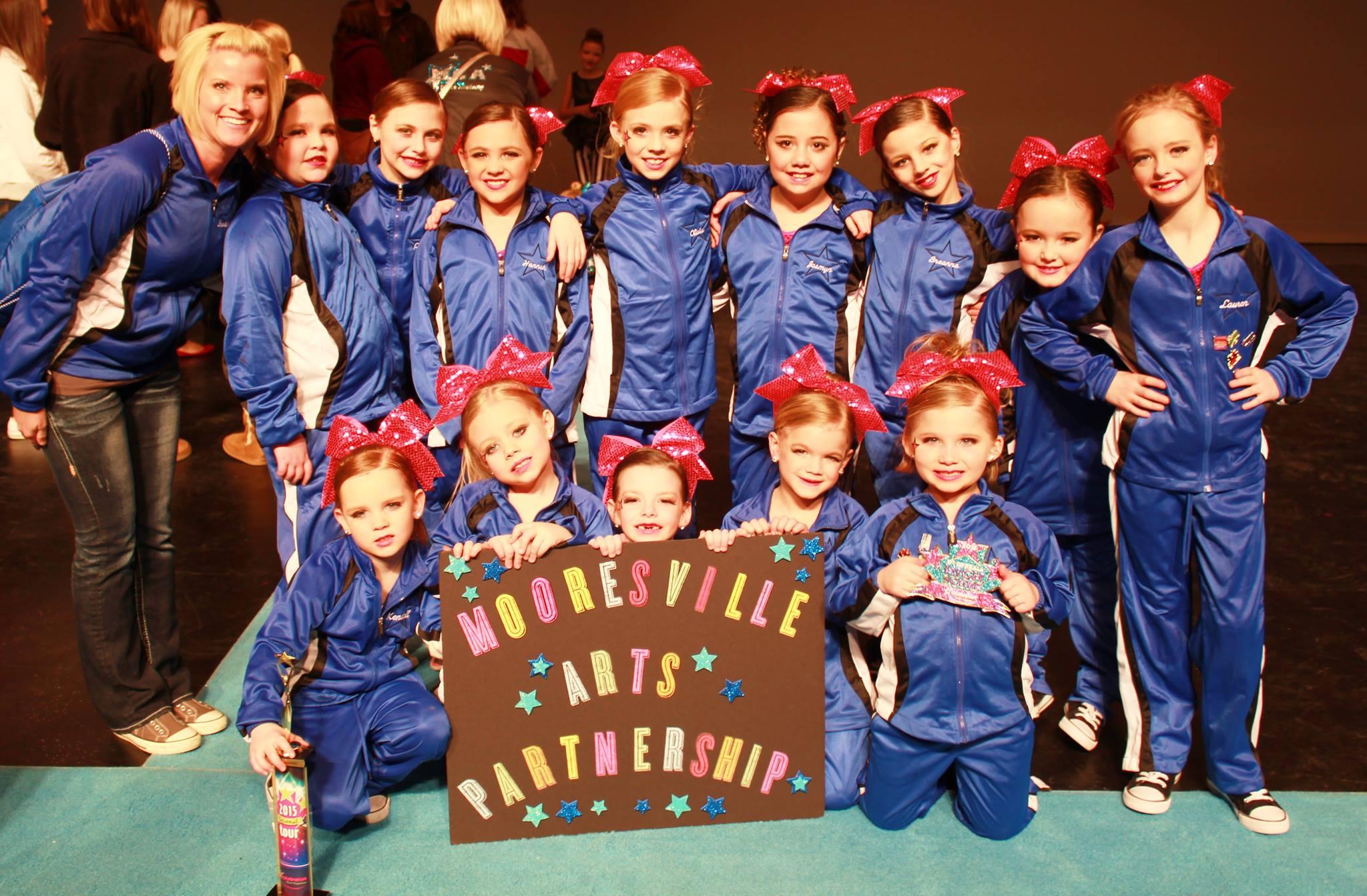 Jr. Cheer & Pom team