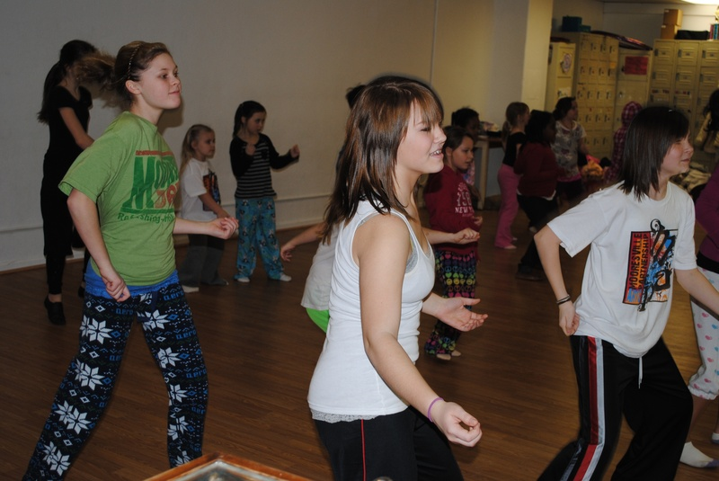 The Pancake Dance at the Lock-In
