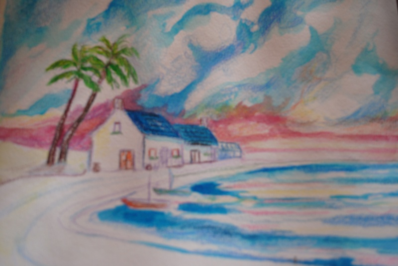 Original Watercolor - Laura Staten
