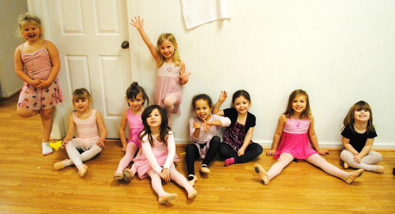 Beginner Ballet and Tumble
