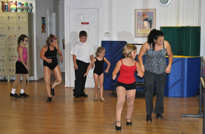 First day of Tap class