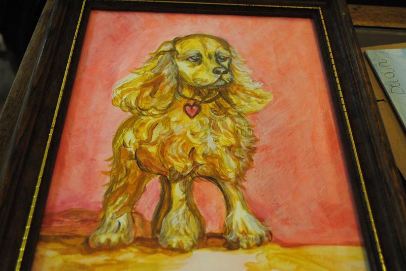 Dog Week- Miss Laura's Cocker Spaniel example