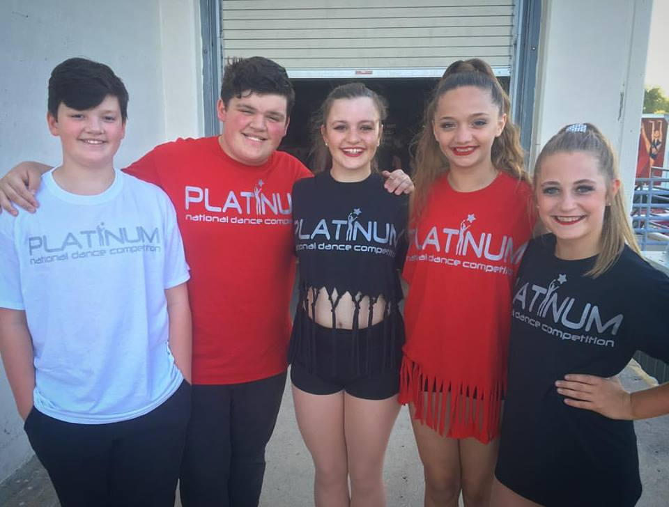 Dancing showcase at Platinum Dance Nationals