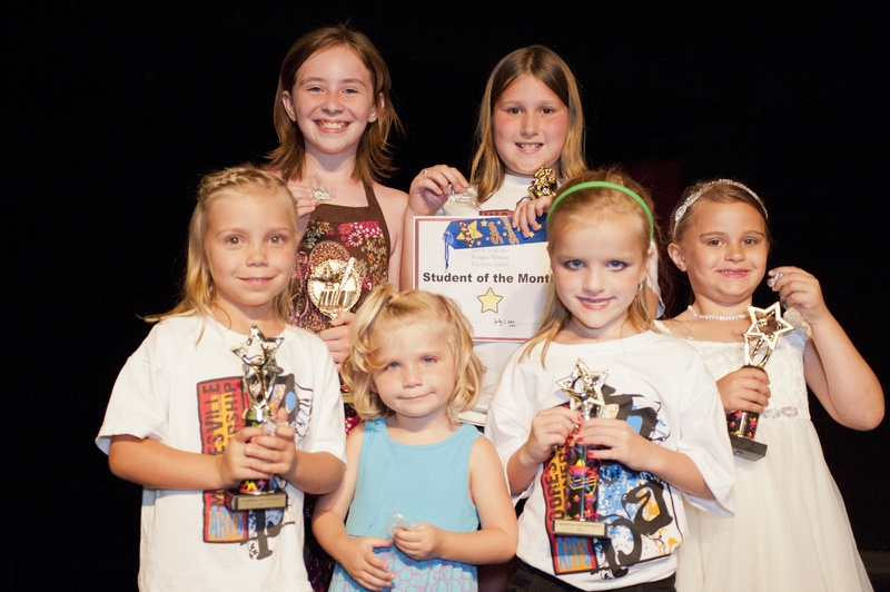 Our students of the month for 2010-2011
