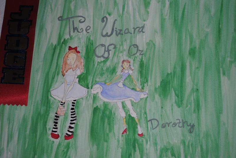 Dorothy - Teen Art Class, Ink