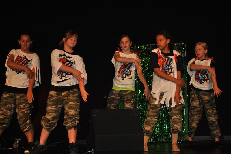 Hip Hop at Dress Rehearsal