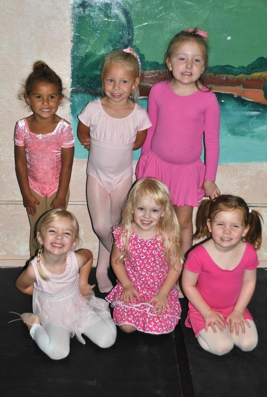 Monday night Beginner Ballet ladies