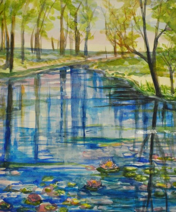Watercolor work - Laura Staten